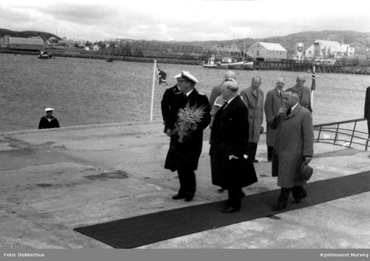 Rørvik, Signingsferd, Kong Olavs besøk på Rørvik