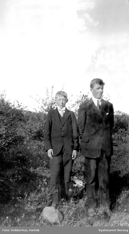 Konrad Dekkerhus og Johan Odinsen Evenstad