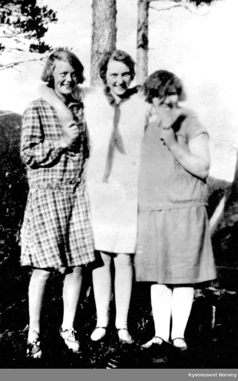Fra venstre: Helga Wassås Wennevik, Gudlaug Lauten og Astrid Fuglevik Westgård