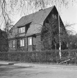 Villa på Hallbergsgatan i Uddevalla