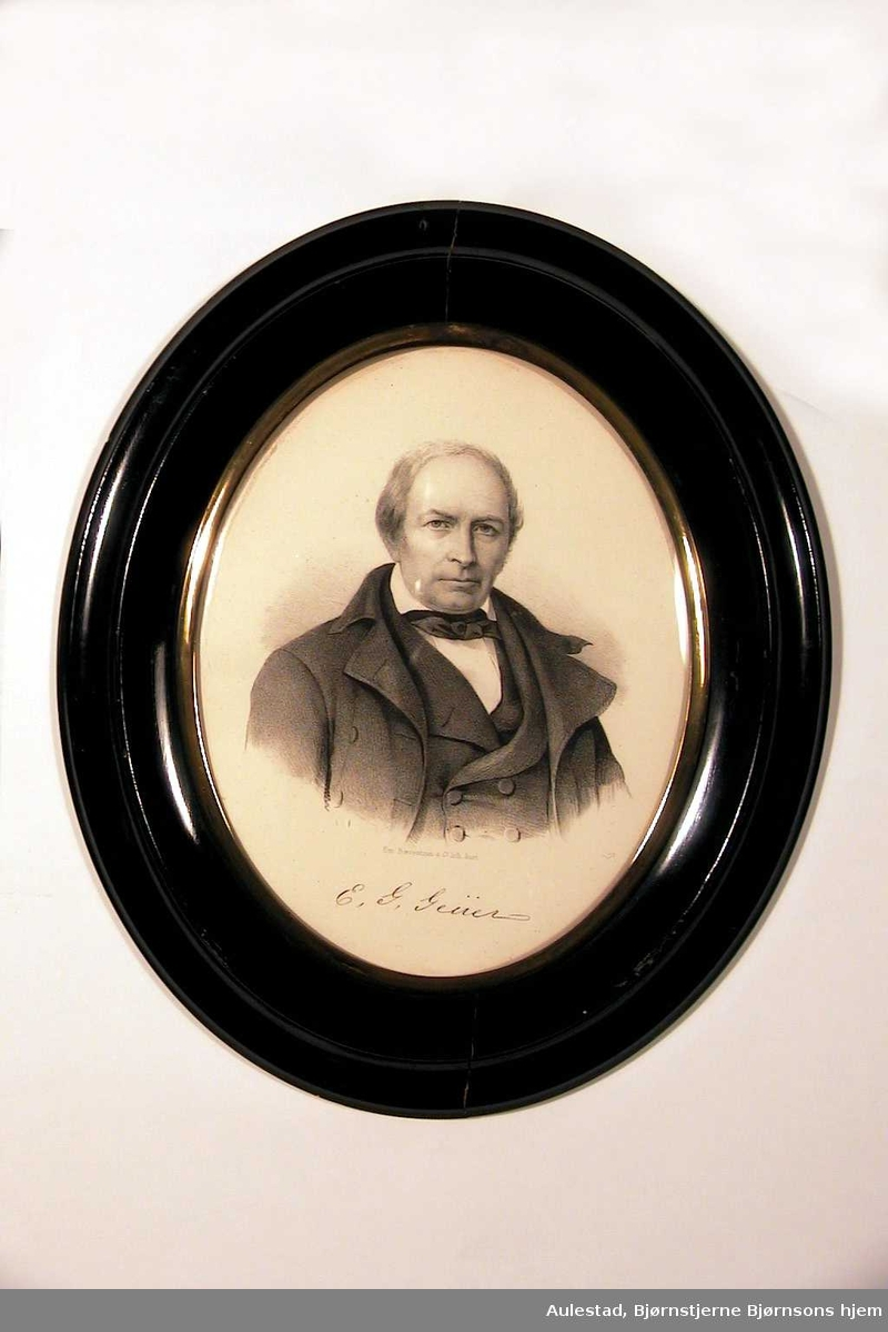 Portrett av middelaldrende mann.