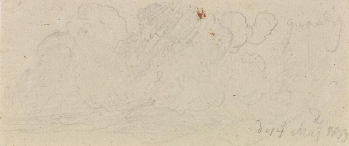 Skystudie [Tegning]