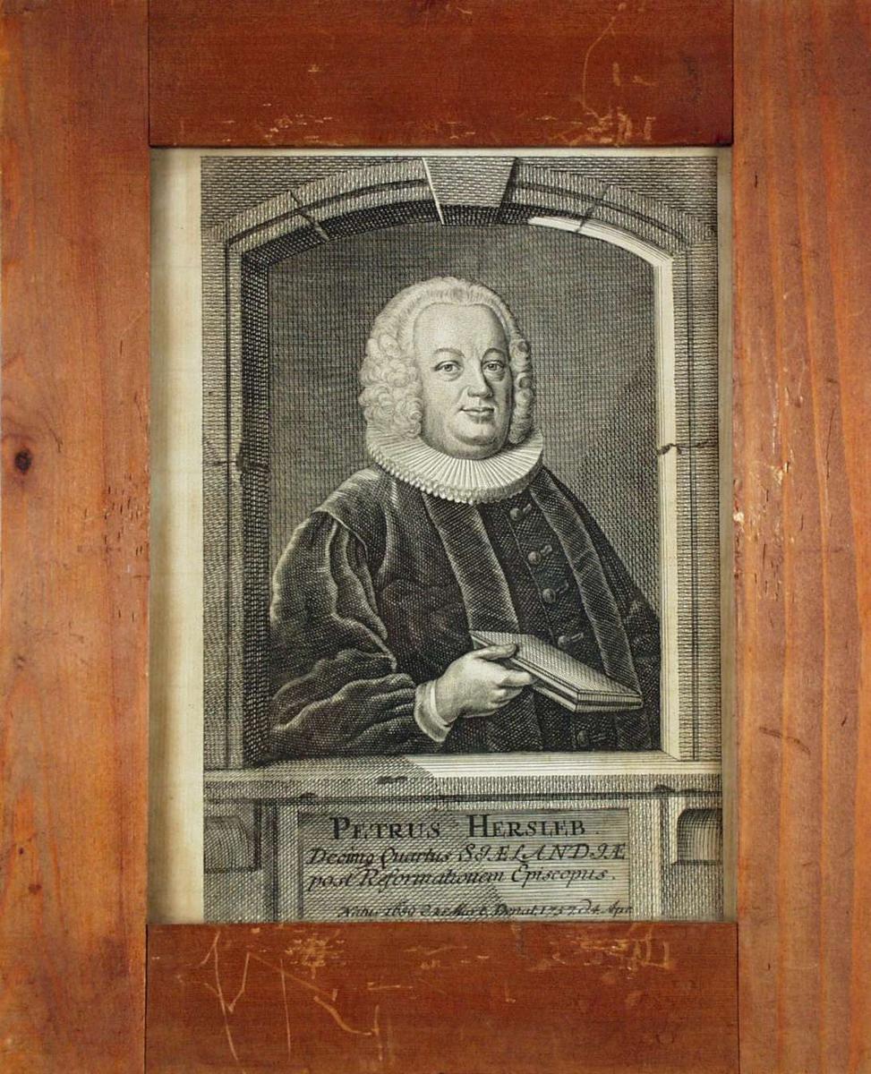 Portrett av Petrus Hersleb.
