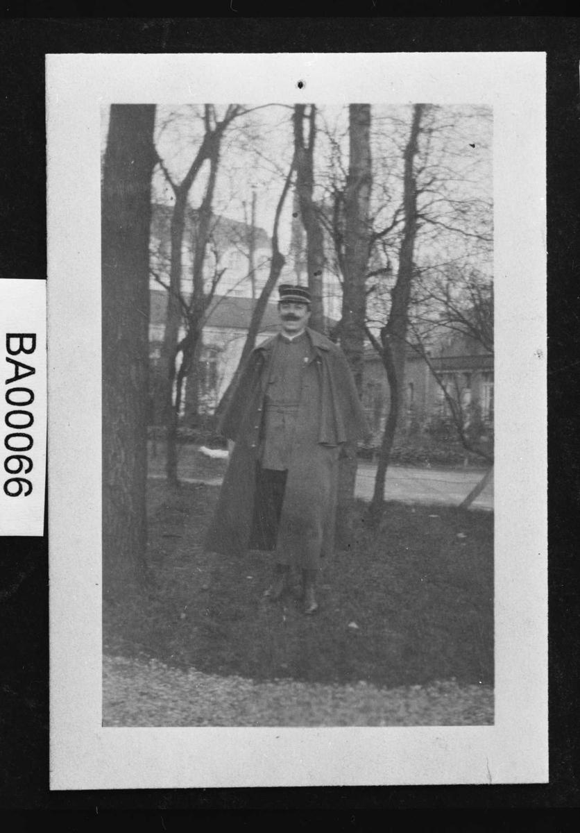Georges Sautreau, uniform,