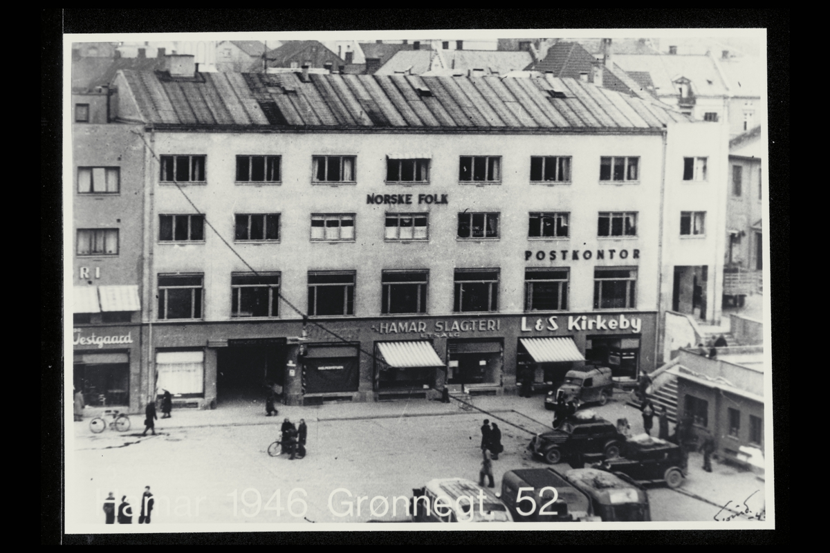 eksteriør, postkontor, 2300 Hamar