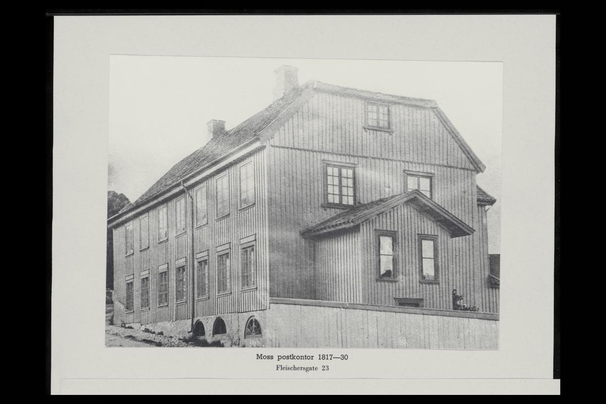 eksteriør, postkontor, 1500 Moss