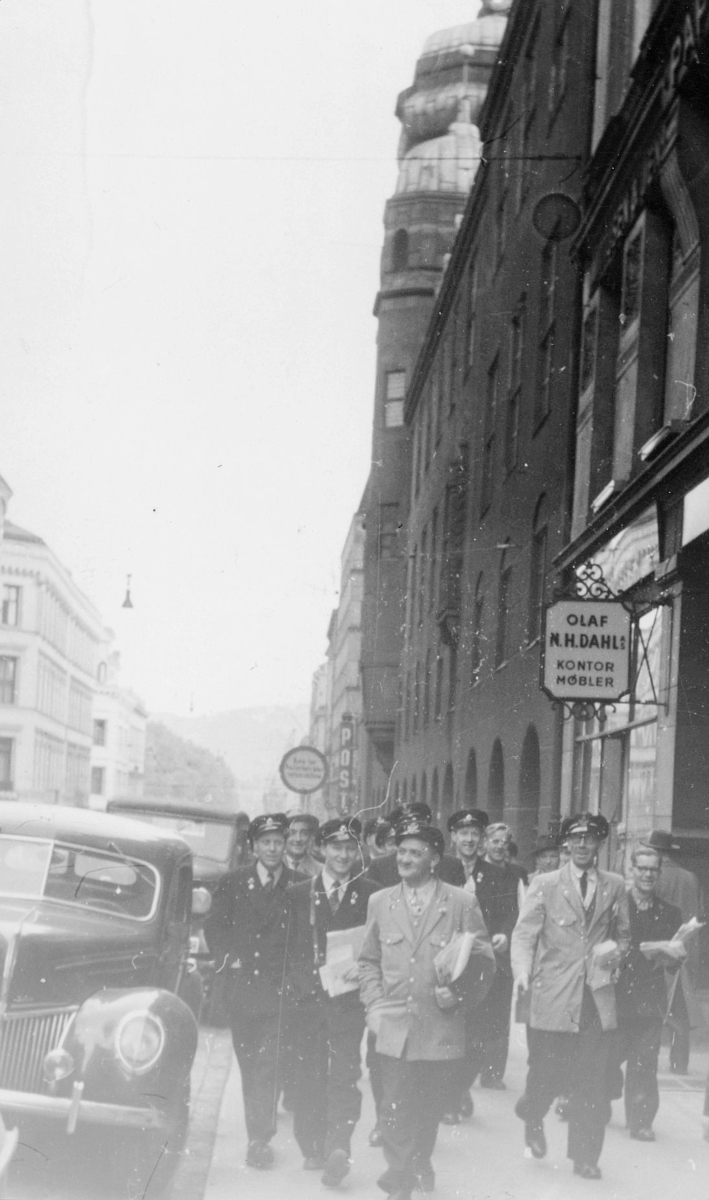 omdeling, Oslo, gruppe postbud