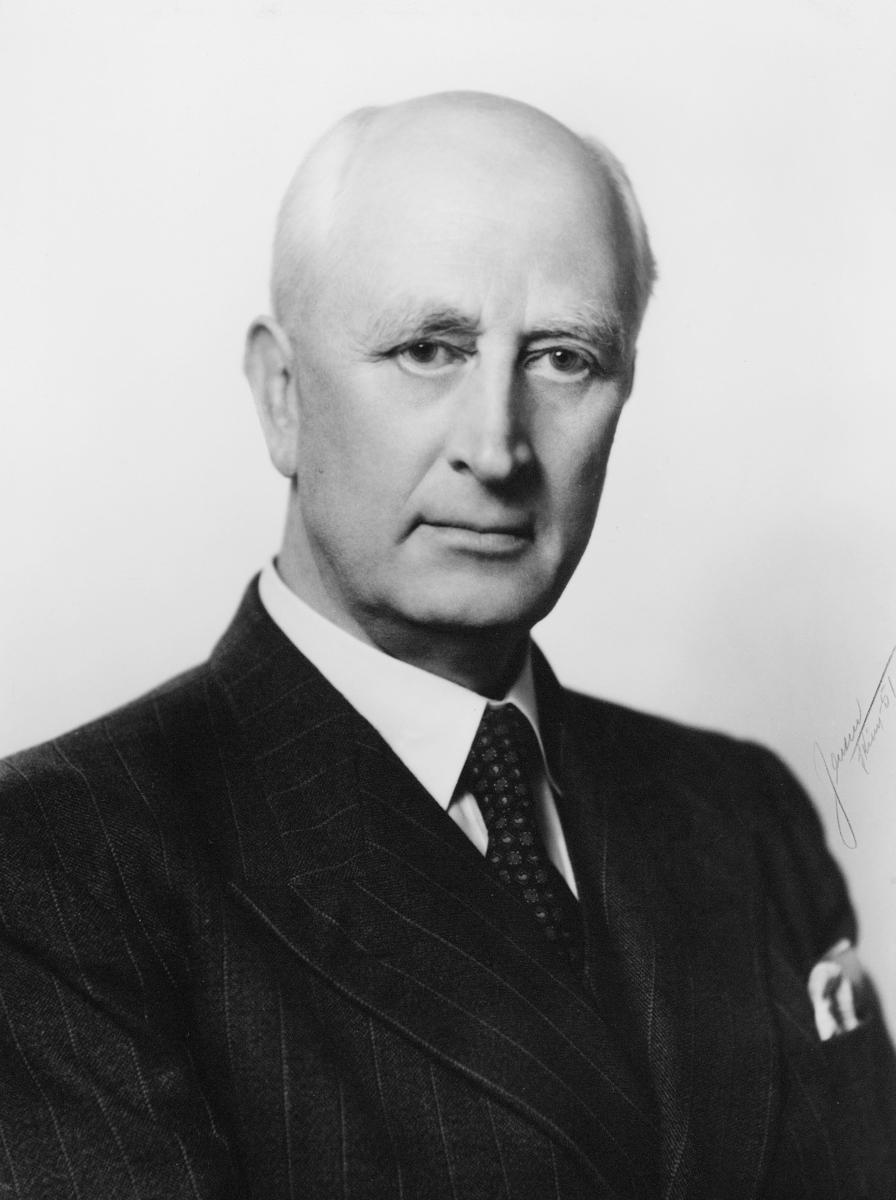 portrett, postmester, Ludvig Holst Hansen