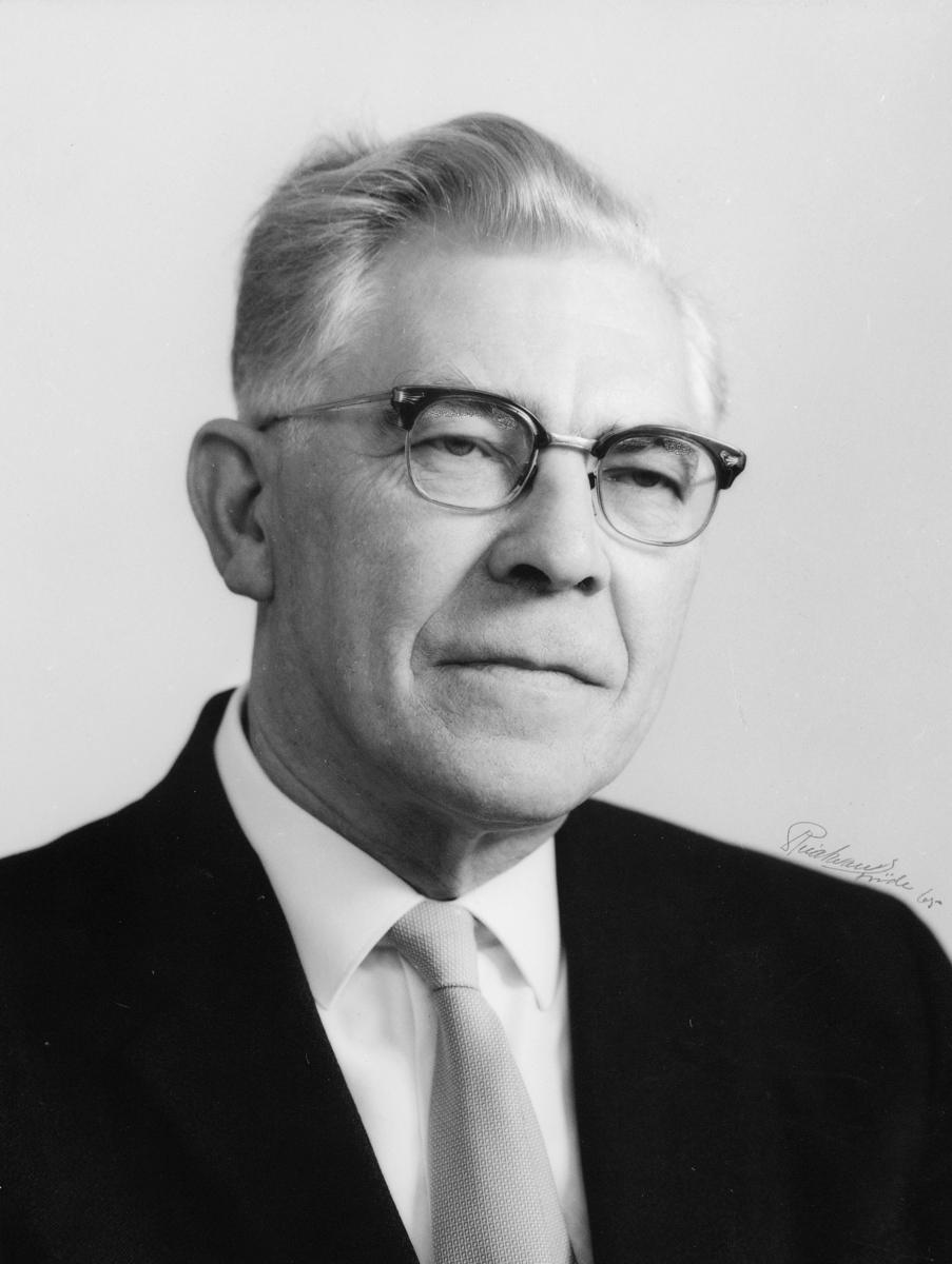 postmester, Lie Fretheim Thorleif, portrett