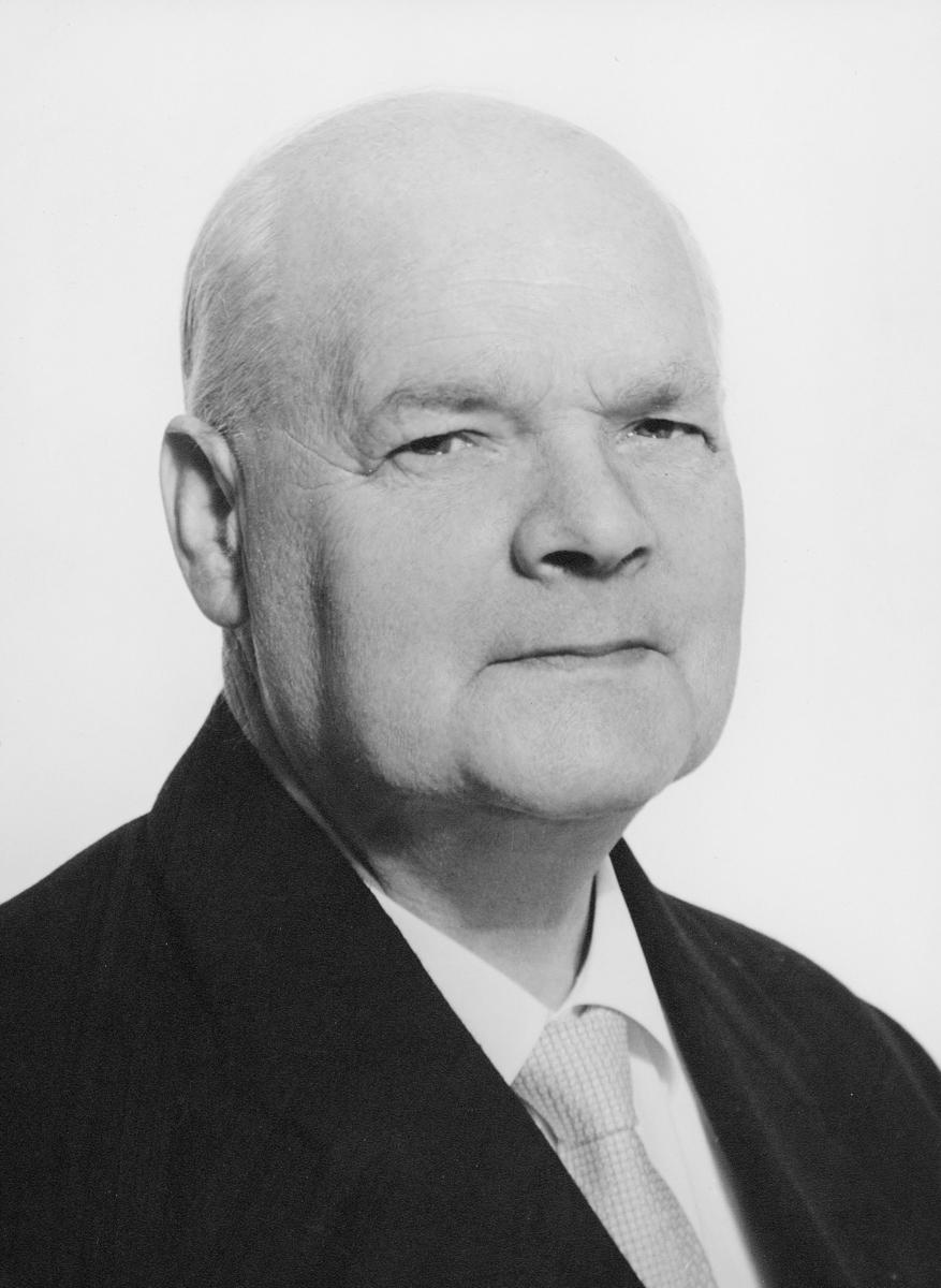 postmester, Eriksen Hilmar, portrett