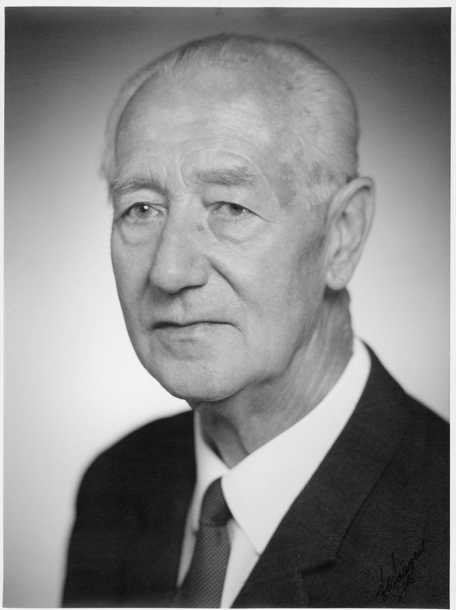 portrett, postmester, Riegels Håkon Olav