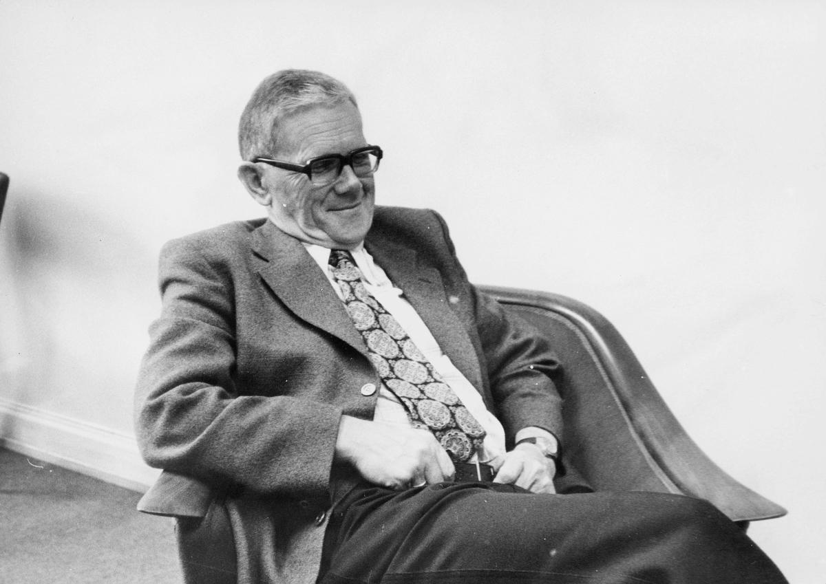 portrett, trafikkdirektør, Ingvald Johan Hisdal