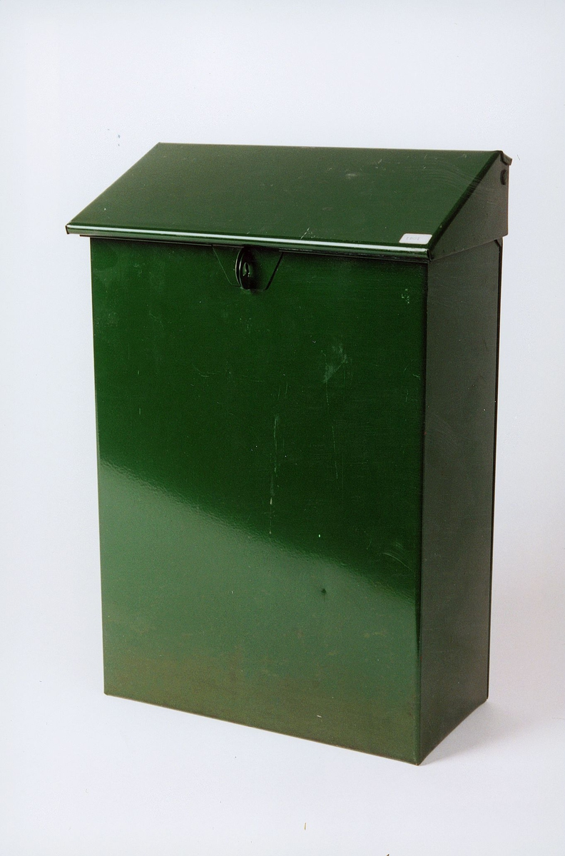 Postmuseet, gjenstander, postkasse, privat brevkasse.