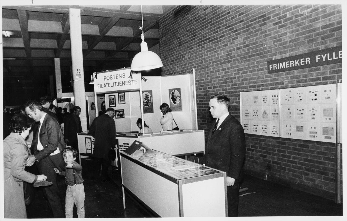 markedsseksjonen, Internordisk frimerkeutstilling, Kunstnernes Hus, Posthornet 100 år, Postens Filatelitjeneste