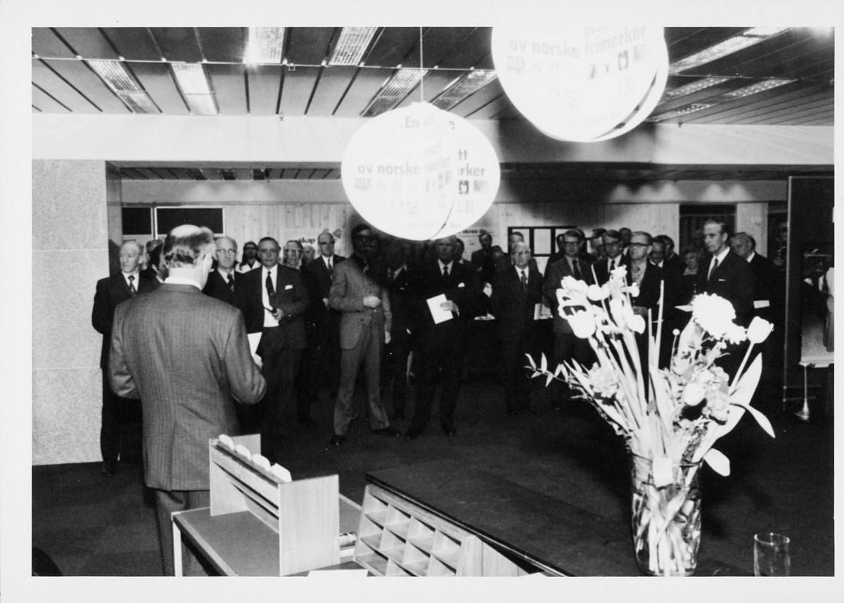markedsseksjonen, Oslo postgård 50 år, utstilling, mennesker