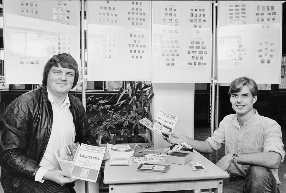 markedsseksjonen, Frimerkets dag '84, postkontor, 2200 Kongsvinger, 5. oktober, norsk ukepresse 150 år,