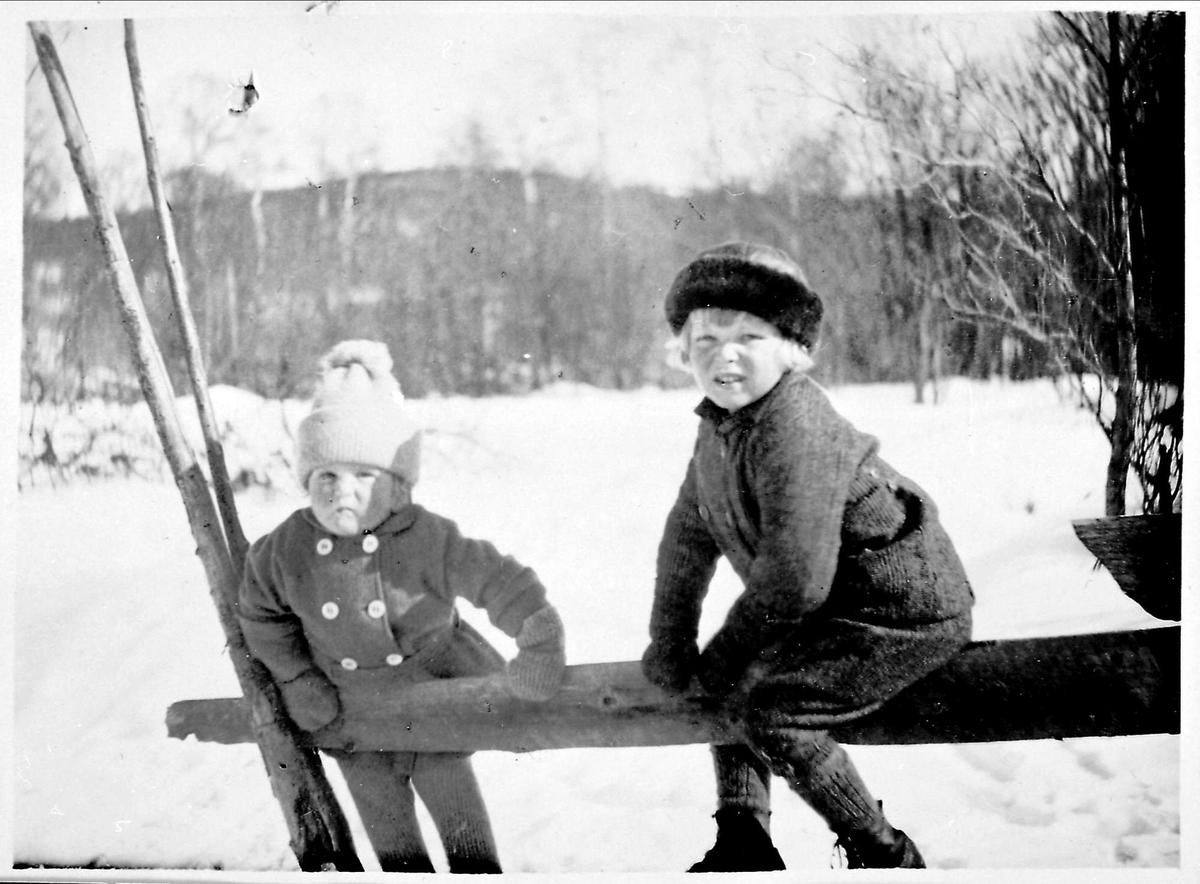 Snø, barn