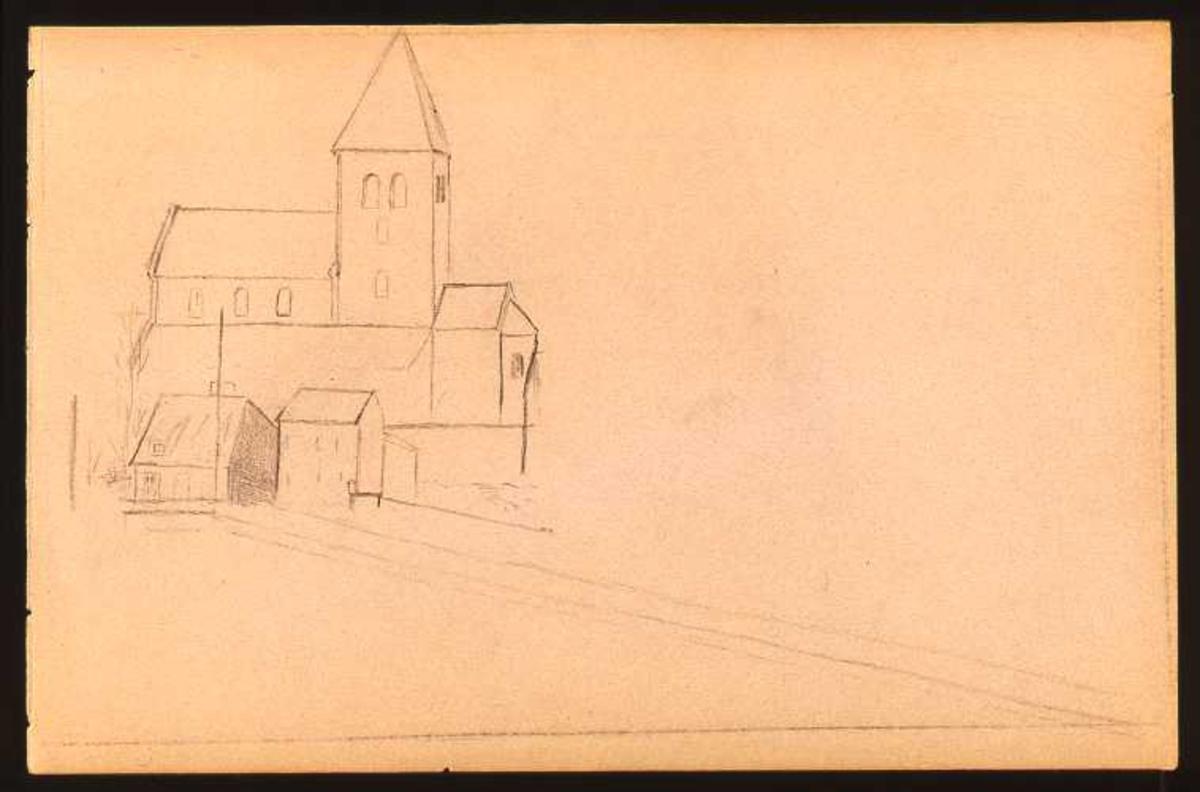 Kirke, tegning