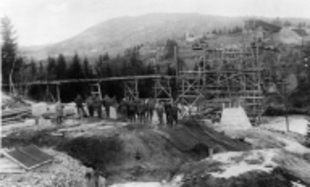 Bygging av jernbanebro