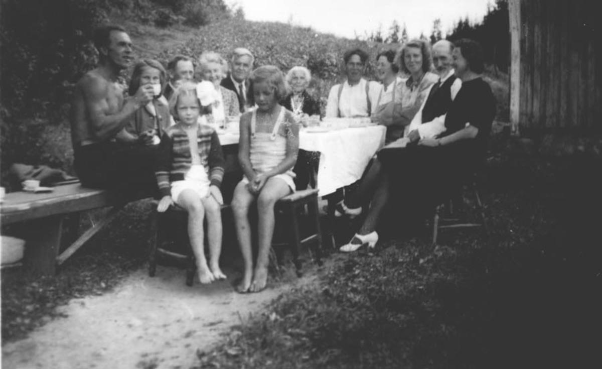 Fra dåpen til Rønnaug Gjevik.