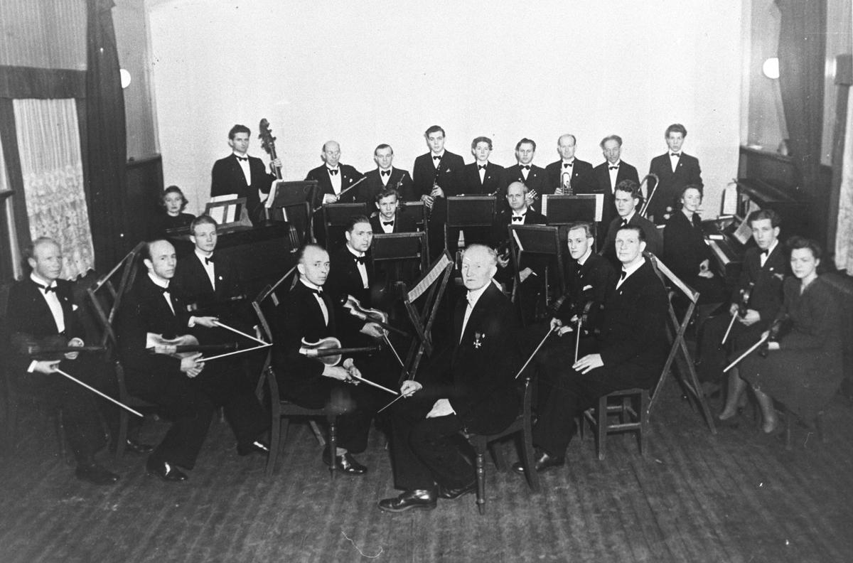 Kolbotn orkesterforening, tatt under en konsert på Skogsland.