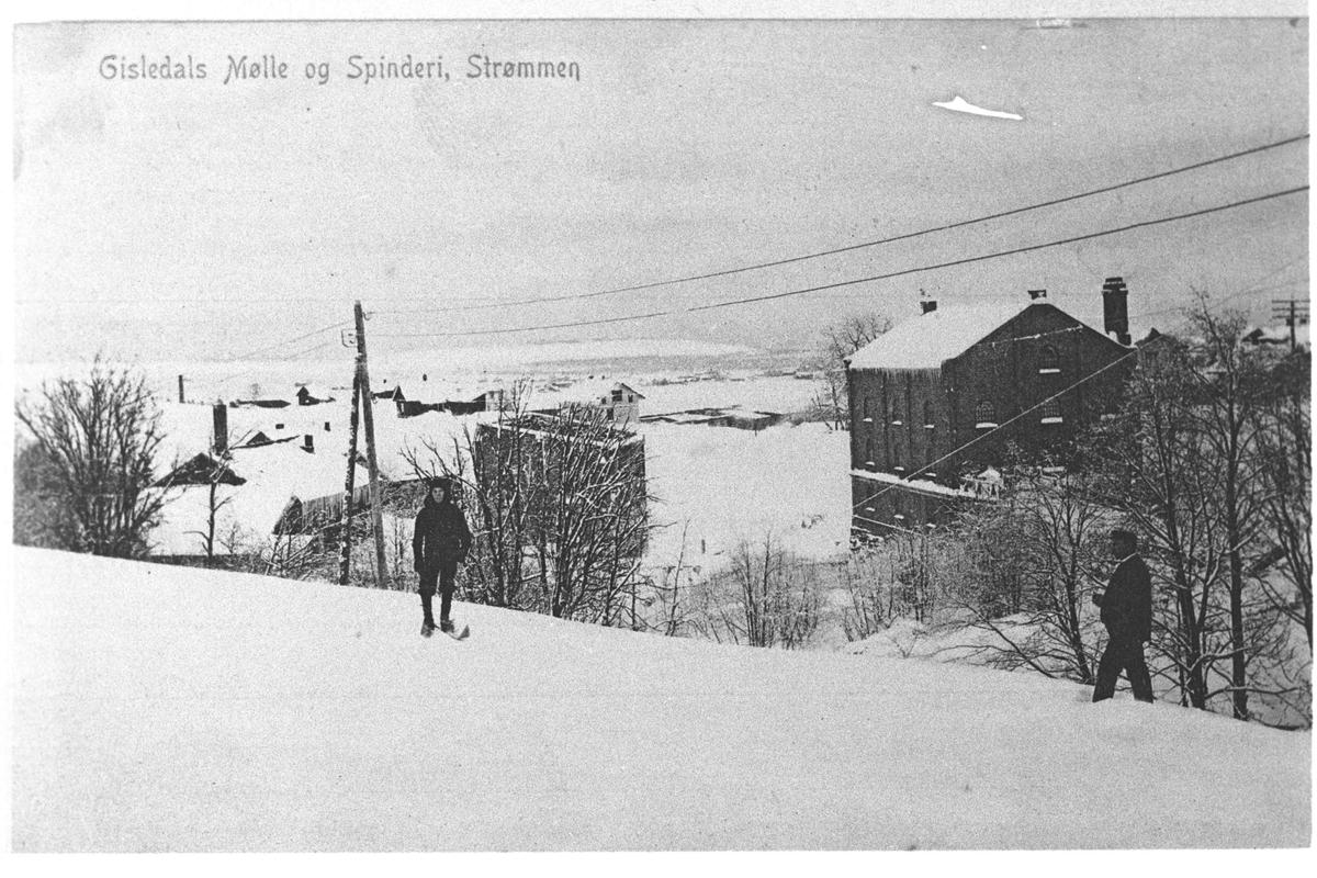 Gisledals Mølle og Spinderi, Strømmen.
