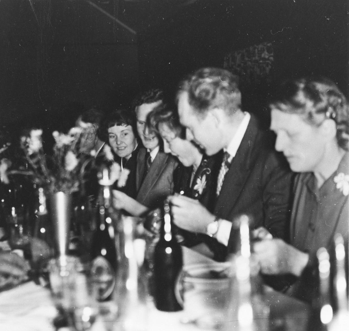 Årsfest i skytterlaget 1956