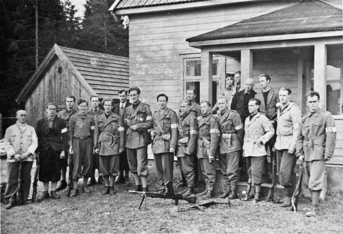 Staben i Milorg i Eidsvoll.
