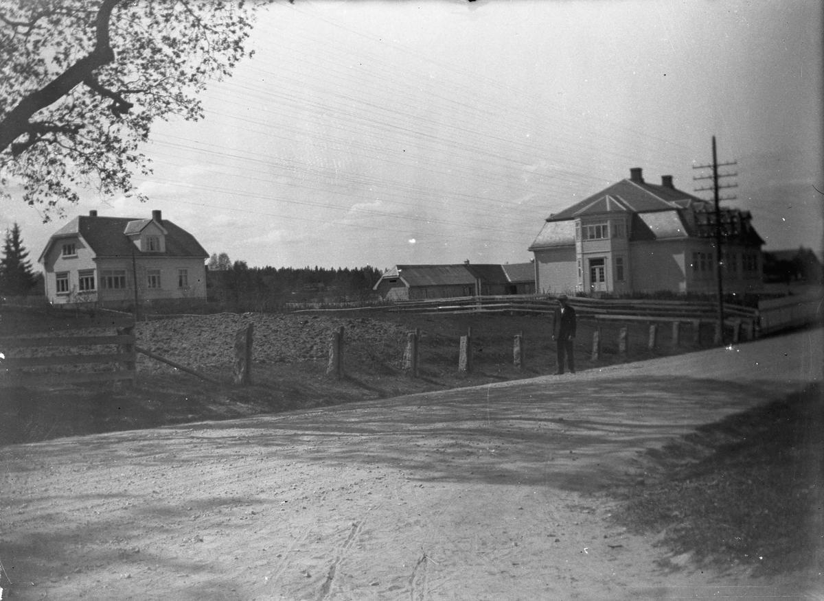 Råholt skole - I dag ligger Råholt senteret her.