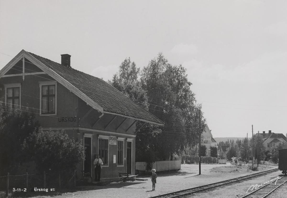 Urskog stasjon.