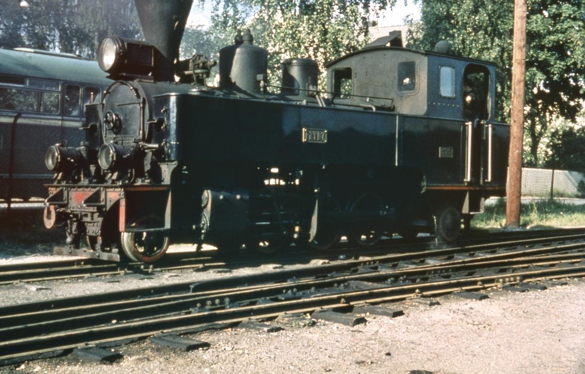 Lok 7 Prydz på Sørumsand stasjon