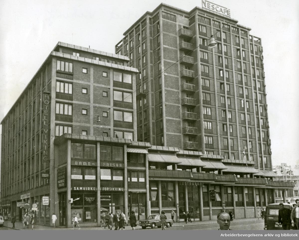 Hotell Viking,.juli 1968