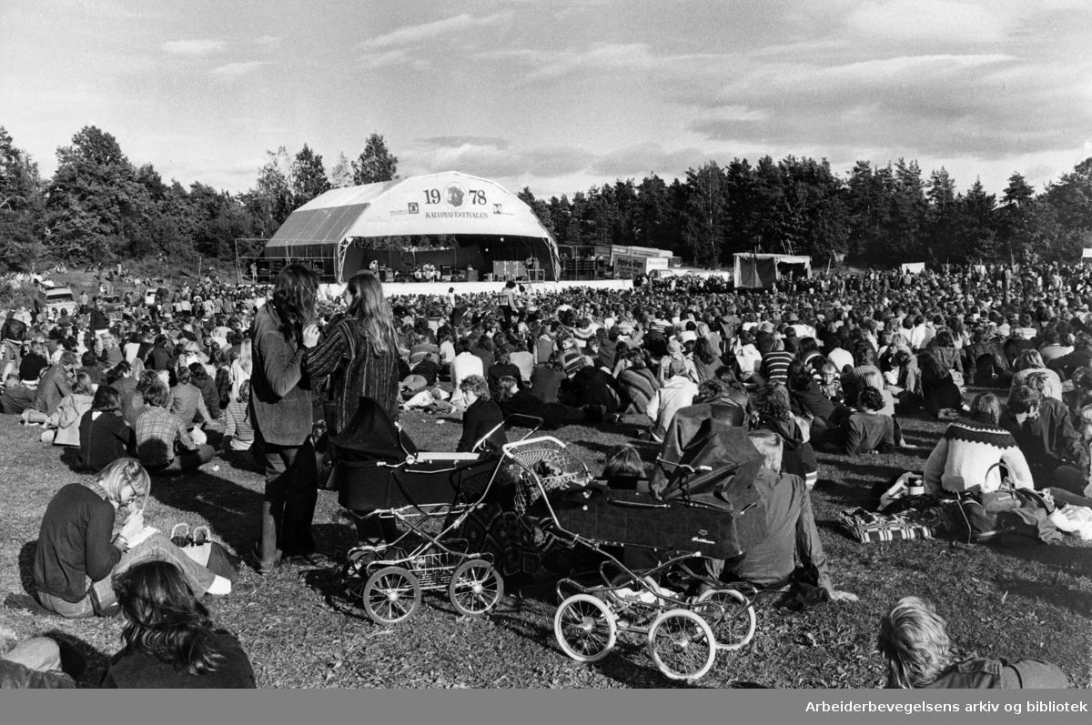 Kalvøyafestivalen, .1978