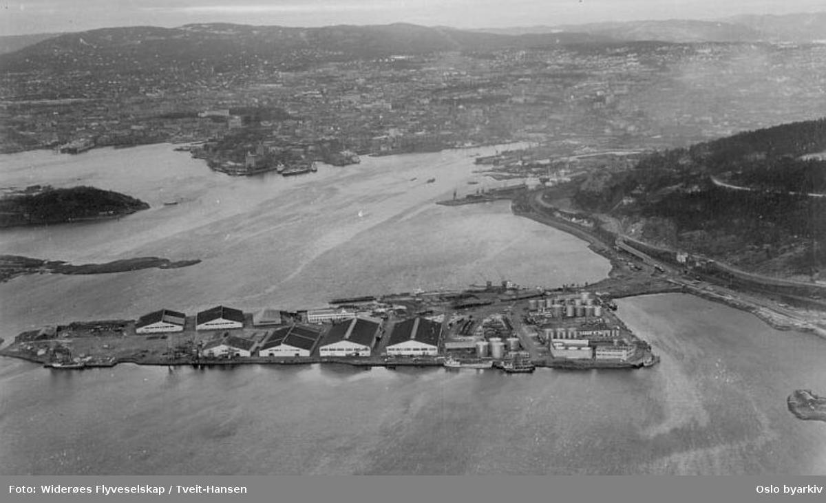 Sjursøya (Flyfoto)