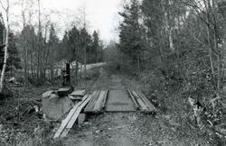 Vognvekt, bygd inn i sidesporet til Kyvannet ved Gråkallbane