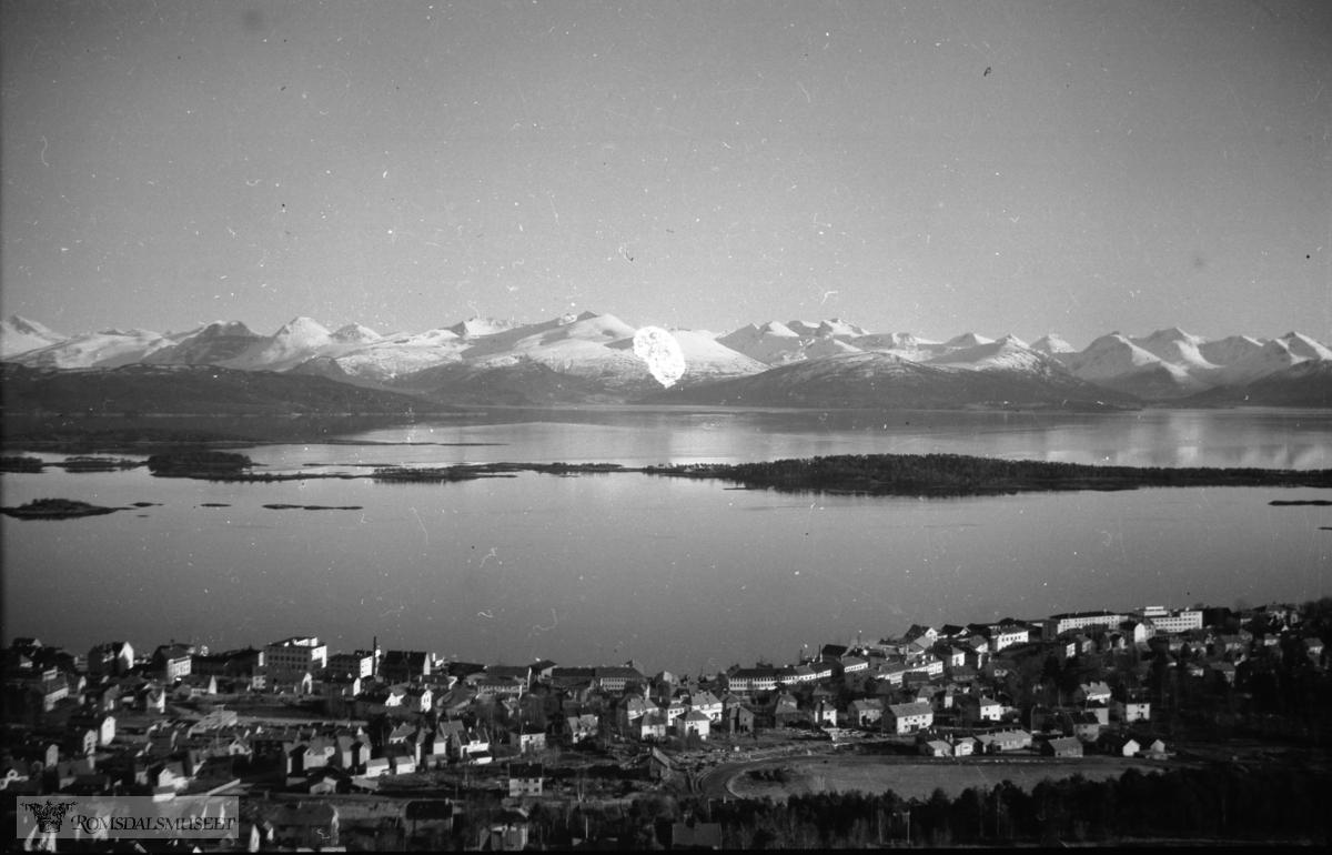 Molde i panorama sett fra Nord
