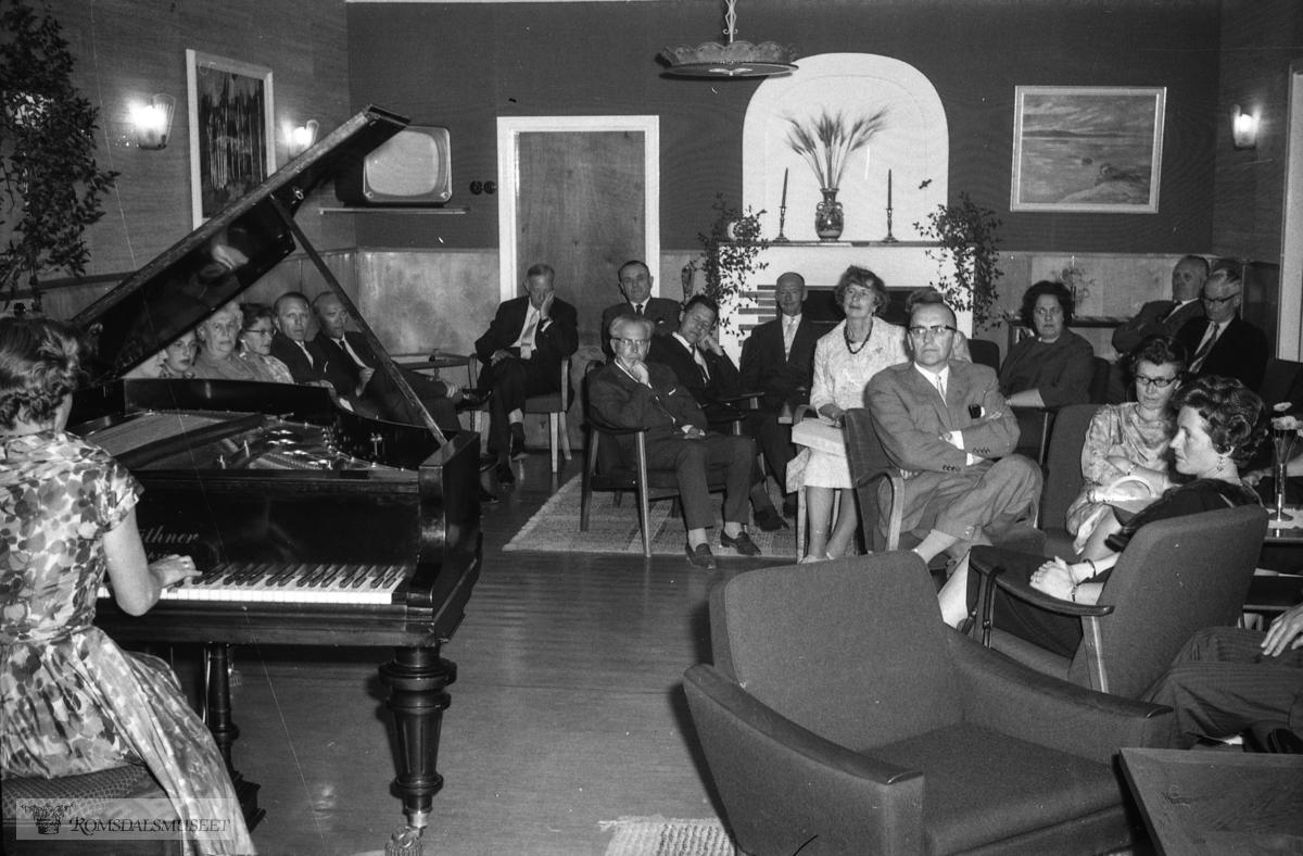 """""""Landsmøte M.V 31.05.1964"""". .Musikkensvenner."""
