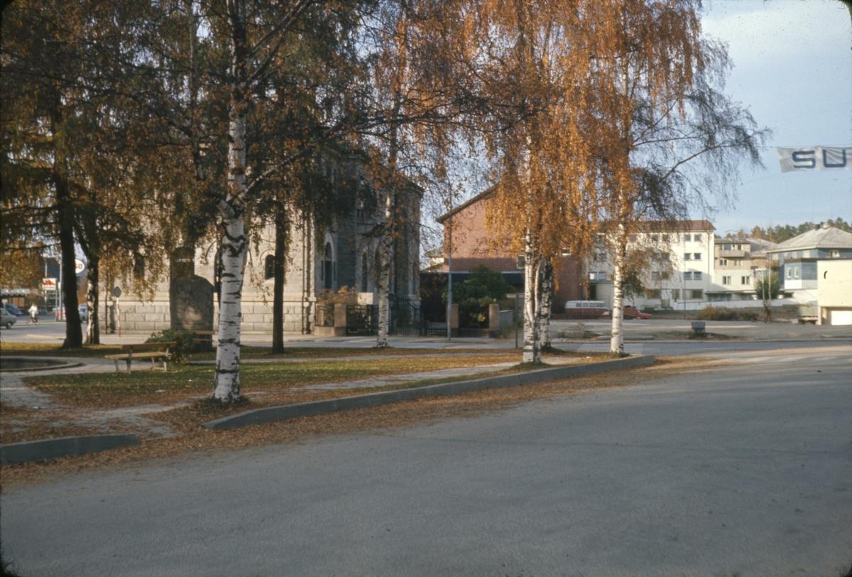 St. Olavsgate, baksiden av banken, Elverum