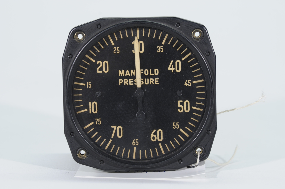 Förkompressormanometer AN 5770. graderad 10-75.