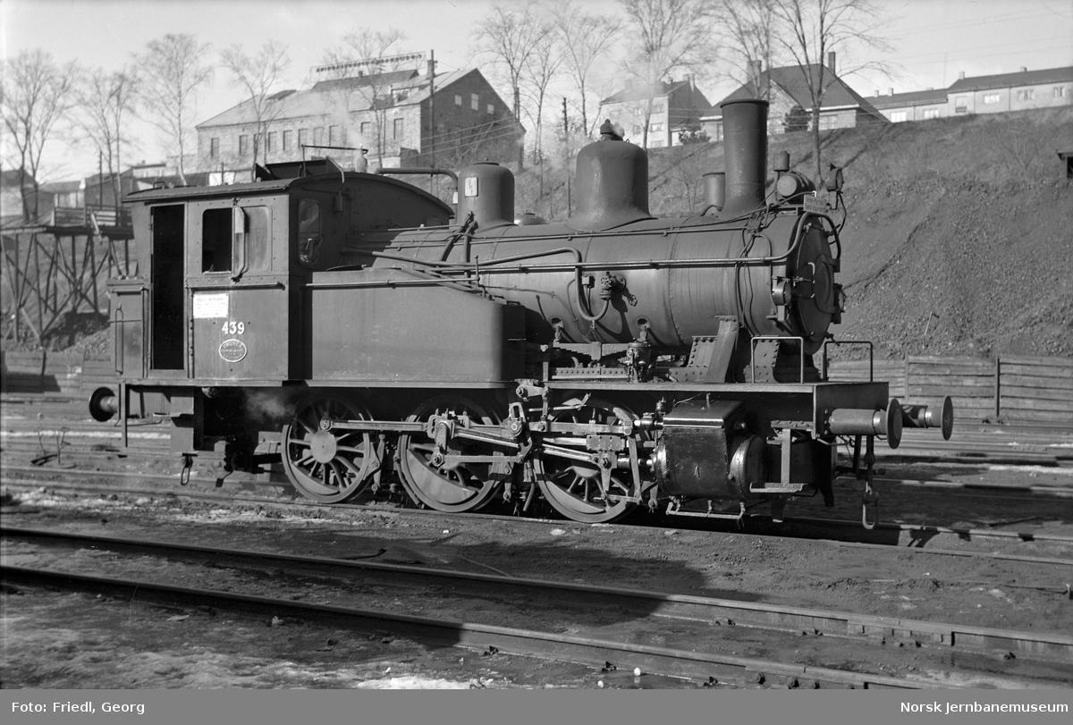 Damplokomotiv type 23b nr. 439 i Lodalen