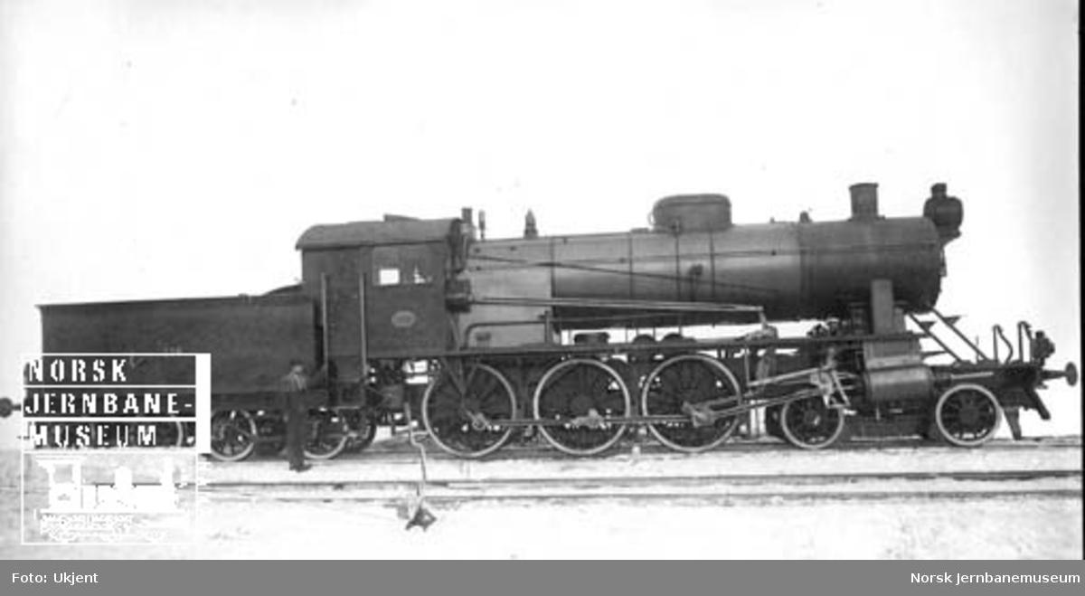Damplokomotiv type 30a nr. 256