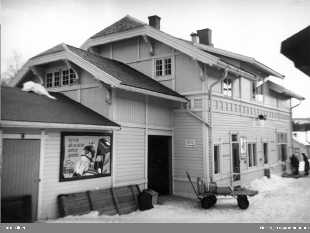Grua stasjonsbygning