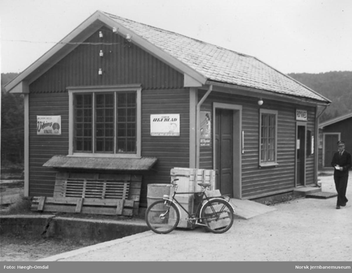 Røyknes stasjonsbygning