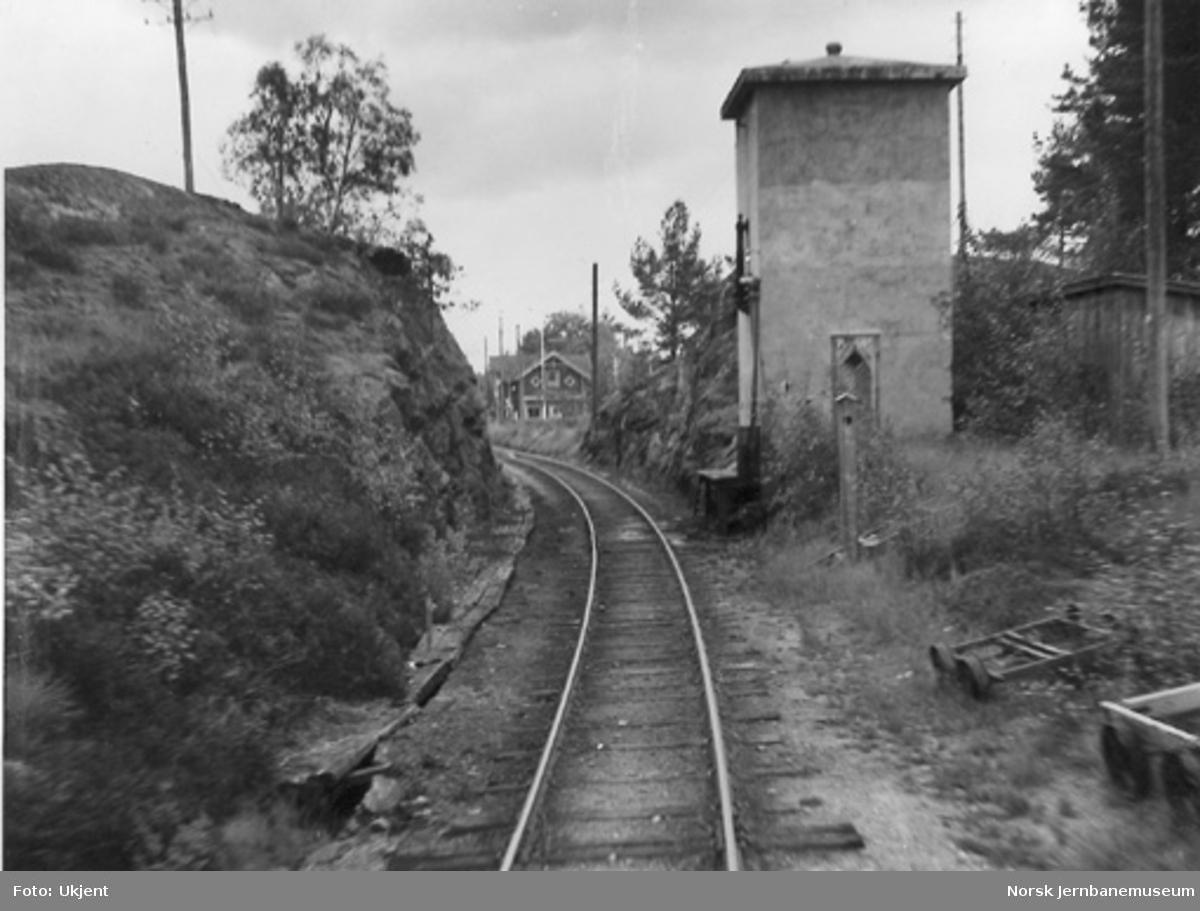 Vanntårnet ved Moisund stasjon