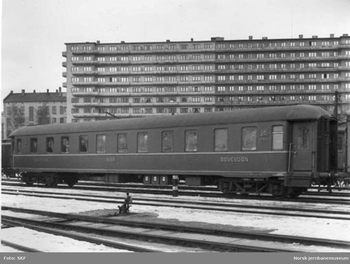 NSB sovevogn litra Ao1b nr. 21010