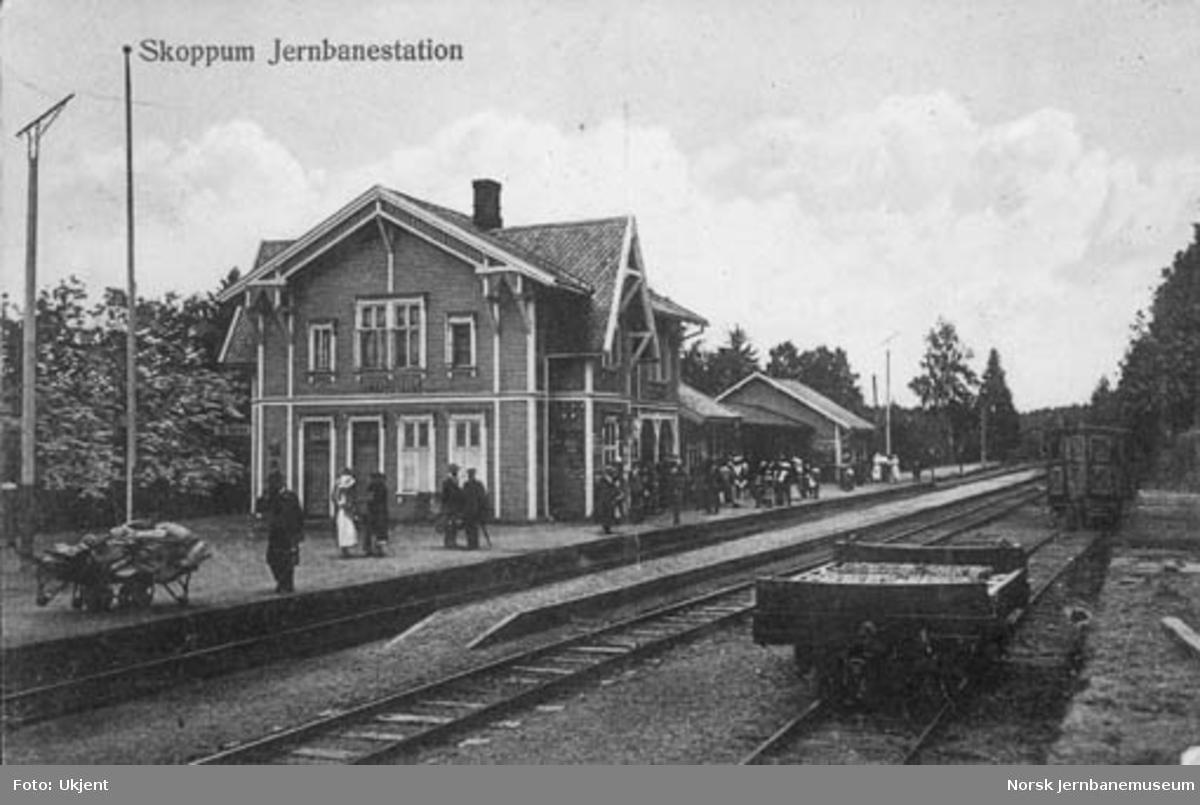 Skoppum stasjon