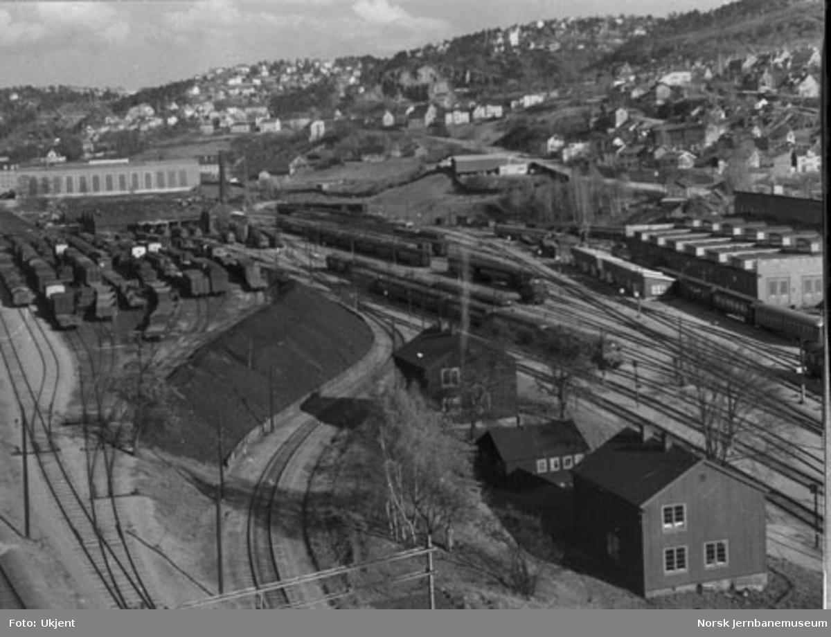 Oversiktsbilde fra Lodalen, sett fra St.Halvardsgt. 25