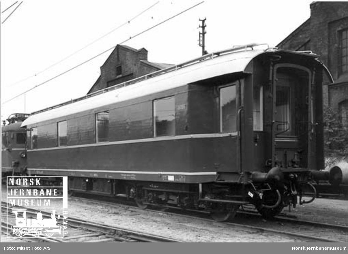 NSB dieselfinkevogn for togoppvarming litra Fdeo nr. 19955