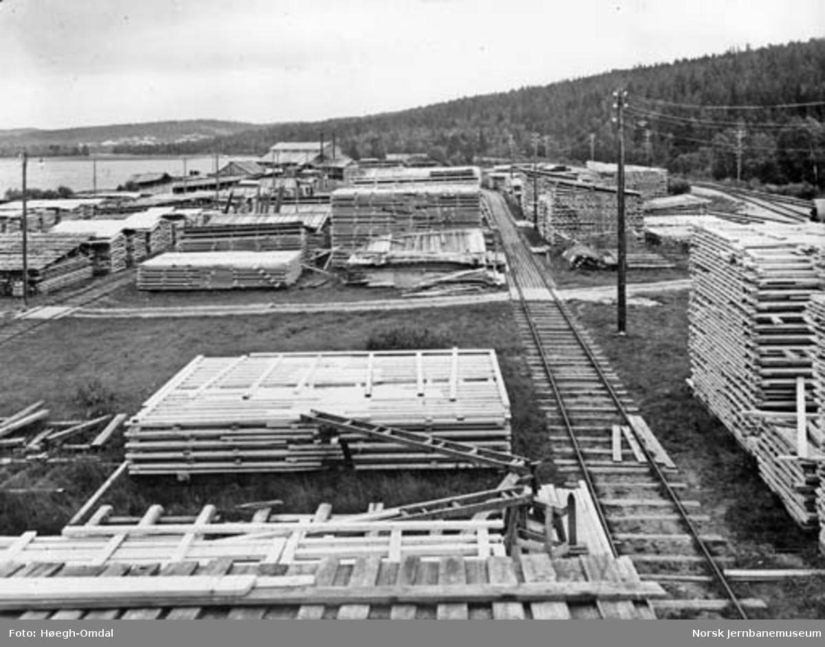 Norges Statsbaners sagbruk : Havsjøen sagbruk