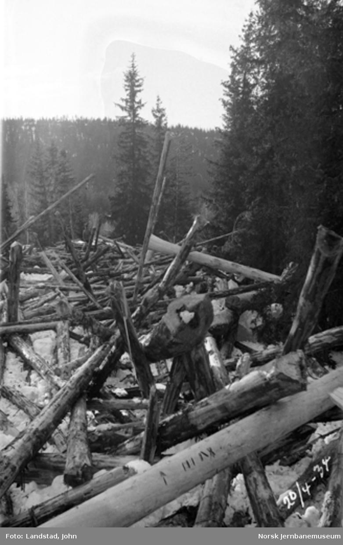 Tømmergang i Hovda elv